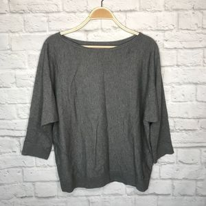 Lou & Grey gray sweater pullover